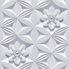 Graham & Brown Marcel Wanders Grey Paper Floral Wallpaper - Looks but it's 3d Wallpaper Roll, Paintable Wallpaper, Classic Wallpaper, Embossed Wallpaper, Grey Wallpaper, Wallpaper Decor, Wallpaper Samples, Flower Wallpaper, Pattern Wallpaper