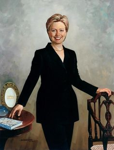 "Hillary Clinton...the first ""First Lady to have an office in the West Wing."