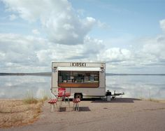 Adam Wilkoszarski explores the eerie abandonment at post-holiday Eastern European coastal towns Kiosk, Holiday Photography, Street Photography, Calm Before The Storm, Contemporary Photography, Contemporary Art, Documentary Photography, Photo Projects, Eastern Europe