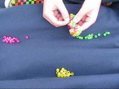How To Make Kandi: Diagonal Striped Multi