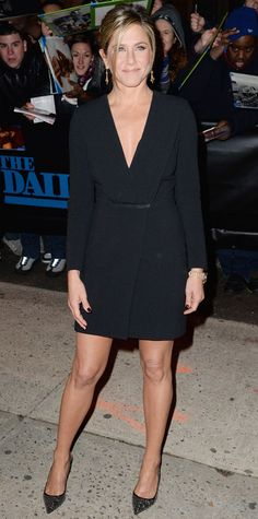 Look of the Day - January 23, 2015 - Jennifer Aniston from #InStyle