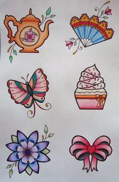 "I'm pondering getting one of these added below my ""sugar"" tattoo (and also getting it a bit fancied up!"