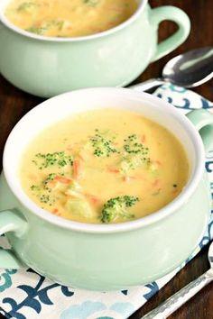 Kuche Guten Appetit: Brokkoli Käsesuppe