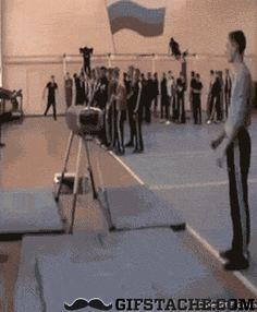Gymnastics fail - GIFstache