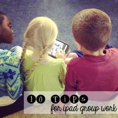 10 Tips for iPad group work