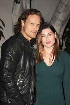 Here are HQ pics of the Outlander cast at the Starz Golden Globes Party See more HQ pics after the jump -