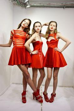 tangerine tango trio #PinPantone