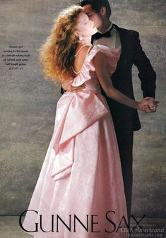 Jessica McClintock Gunne Sax- all the girls wore these to prom:) This looks almost like my bridesmaids dresses im sorry girls! Vintage Prom, Vintage Dresses, Vintage Outfits, Vintage Fashion, Lovely Dresses, 1980s Prom, Before I Forget, 80s Dress, 80s Prom Dresses