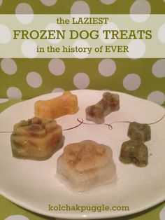 Do you want to spoil your dog with tasty frozen dog treats without all the work? We've got just the thing with these 5 lazy recipes that your dog will love.