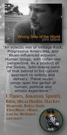 """Wrong Side of the World"" iTunes ..  Leaflet"