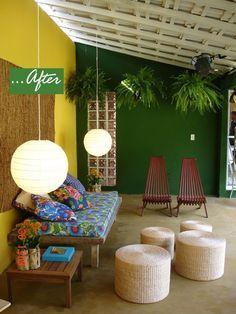 Trendy Patio Design On A Budget Layout Outdoor Living Outdoor Living Rooms, Living Room On A Budget, Deco Jungle, Estilo Tropical, Cozy Patio, Patio Wall, Wall Seating, Budget Patio, Outdoor Furniture Sets