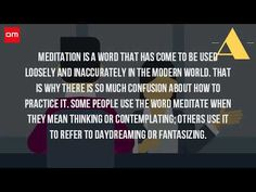 What Do You Mean By Meditation? - (More info on: https://1-W-W.COM/meditation/what-do-you-mean-by-meditation/)