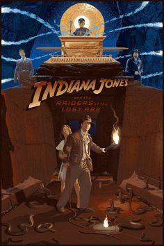 On June 12, 1981, adventure got a new name: Indiana Jones. Now, 35 years later, Steven Spielberg and George Lucas' film Raiders of the Lost Ark remains a revered classic and one of the best action films of all time. To begin the anniversary celebration, Lucasfilm has licensed a brand new, limited edition poster everyone can grab.