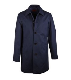 Coat Stuart Donkerblauw