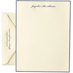 You can't beat a classic Crane's stationery design...