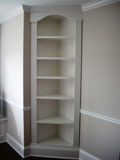 Built in Shelves - dining room?