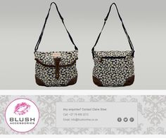 A woman's bag doesn't need to be big to be fabulous! Stand out with this darling daisy print bag available at stores. Printed Bags, Hand Bags, Daisy, Blush, Big, Accessories, Women, Fashion, Moda