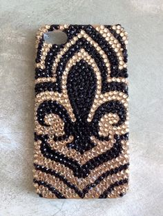 Fleurty Girl - Everything New Orleans - Football Fan Phone Case for iPhone 4/4s & 5, $14.95. #fleurdelis