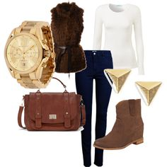 """Autumn outfit 1.0"" by eviell on Polyvore"