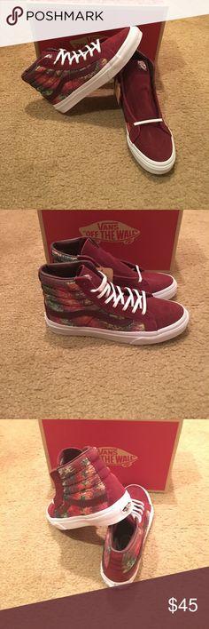 1b2d292642 Italian Weave SK8HI Slim New in box. Port royal Vans Shoes Sneakers Vans  Shoes