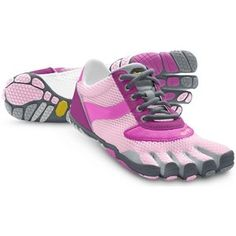 8a2f2febc4dc Take a look at this Pink   Gray Speed Sneaker – Women by Vibram FiveFingers  on sale, mens and kids styles too