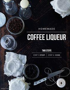 Coffee Liqueur via House Of Brinson #recipe