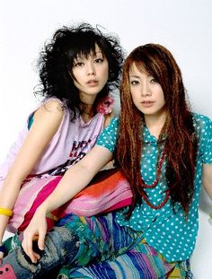 This is a J-pop band called PuffyAmiYumi. Yumi is the one with short hair and the long haired girl is Ami.