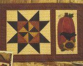 Primitive Folk Art Quilt/Wool Applique Pattern:  By Thy HANDS - SEPTEMBER - Monthly Pattern Series BOM