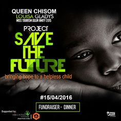 """BRINGING HOPE TO A HELPLESS CHILD (SAVE THE FUTURE)   The early morning jogs afternoon classes mid-day photo shoots and mid night studies wont stop Queen Chisom Ugah who is determined to Save the Future by assisting helpless children.  """"There can be no keener revelation of a society's soul than the way in which it treats its children."""" Nelson Mandela Former President of South Africa  Project Save the Future is aimed at helping more than 2000 vulnerable and disadvantaged children across Ogun…"""