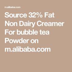 Source 32% Fat Non Dairy Creamer For bubble tea Powder on m.alibaba.com Non Dairy Coffee Creamer, Tea Powder, Acrylic Organizer, Bubble Tea, Makeup Storage, Clear Acrylic, Paper Flowers, Certificate, Bubbles