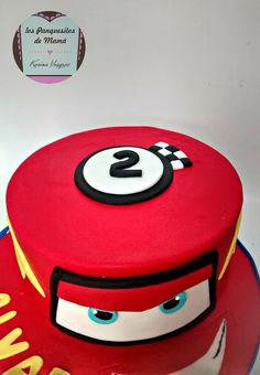 "Torta de ""Cars - Rayo McQueen"" │""Cars - Lightning McQueen"" cake"