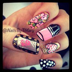 Photo by nailsbytimary #nailart #nails