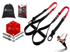 Amazing offer on INTENT SPORTS Complete Bodyweight Fitness Resistance Trainer KIT plus Intent Mount. Professional Quality, Home Gym. Strength Training Equipment, No Equipment Workout, Fitness Equipment, Sports Equipment, Trx Straps, Bike Saddle Bags, Aerial Yoga Hammock, Bodyweight Fitness, Body Weight Training
