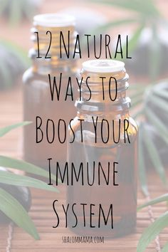 Its getting colder so colds are on their way. Here are some natural Ways to Boost Your Immune System
