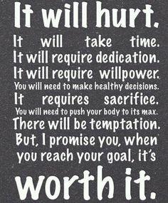Denne liker jeg å se på hvis jeg lurer på om all treningen er verdt det. It's worth it!