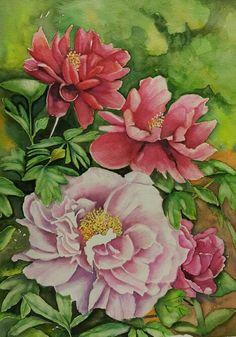 Watercolor ~ Mak S C