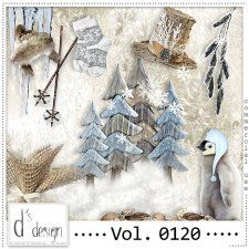 Vol. 0120 - Winter Mix  by Doudou's Design  #CUdigitals cudigitals.com cu commercial digital scrap #digiscrap scrapbook graphics