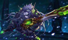 Koltira Deathweaver by 大 王 Character Concept Designer Gargoyles Characters, Fantasy Characters, Warcraft 3, World Of Warcraft, Fantasy Rpg, Dark Fantasy, Fantasy Artwork, Character Concept, Concept Art