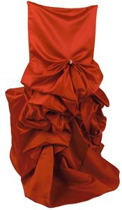 Chair covers that look like dresses! Wedding Linens, Wedding Chairs, Art Deco Wedding, Red Wedding, Wedding Decor, Gold Chivari Chairs, Old Hollywood Wedding, Autumn Inspiration, Wedding Inspiration