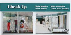 CHECK UP - Loja de moda feminina, masculina, infantil e cama, mesa e banho – Córrego Fundo / MG | por viesdesign