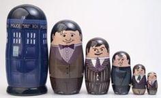 doctor who nesting dolls
