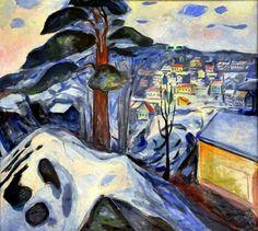 Edvard Munch.1931