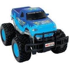 1:24 Monster Truck Crazy Monster RC - Blue #remotecontrol #car #vehicle #toy