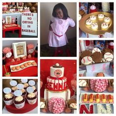 """Baseball """" A League of Their Own Party"""" Birthday Party Ideas 