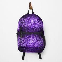 Music Notes, Different Styles, Fashion Backpack, Clutches, I Shop, Glow, Backpacks, Printed, Purple