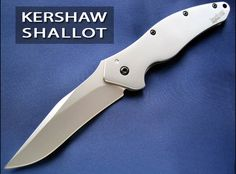 The Kershaw Shallot, very cool knife
