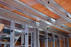 Steel Frame House, Steel House, Steel Framing, Steel Frame Construction, Cove Lighting, Still Frame, Frame Light, Container Design, False Ceiling Design