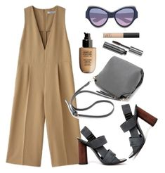 """""""Jumpsuit"""" by thestyleartisan ❤ liked on Polyvore featuring Proenza Schouler, Yves Saint Laurent, MAKE UP FOR EVER, Bobbi Brown Cosmetics and NARS Cosmetics"""