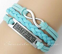 Infinity bracelet--Best friend bracelet-- @ Katie Allison