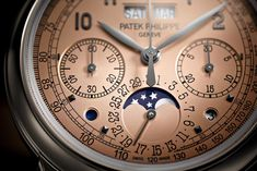 Patek Philippe - Perpetual Calendar Chronograph Ref. 5270P Salmon Dial   Time and Watches - The Watch Blog